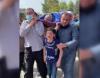 مع السلامة يابا.. قطري يتبنى طفل شهيد بغزة بعد فيديو مؤثر
