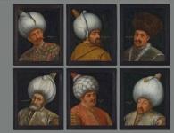 لوحة نادرة لستة سلاطين عثمانيين تباع في مزاد علني ببريطانيا