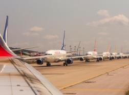 بعد توقف حركة الطيران.. أين تخزن الشركات طائراتها ؟