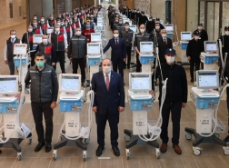 وزير الصناعة التركي : سننتج 5 آلاف جهاز تنفس صناعي نهاية مايو