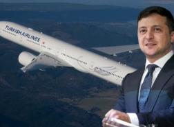 الرئيس الأوكراني يحلم بشركة طيران على مستوى الخطوط الجوية التركية