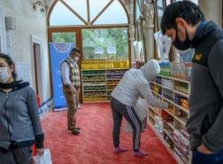 مسجد في إسطنبول يتحول إلى «بنك غذاء» مجاني للمحتاجين
