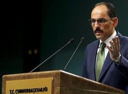 تصريح للناطق باسم الرئاسة التركية حول الإجراءات في عيد الفطر