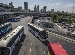 استئناف حركة الحافلات والقطارات بين المدن التركية قريبًا