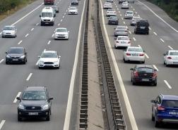 سفر 23.4 مليون سيارة على الطرق التركية في أبريل