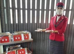 طواقم نظافة متخصصة لـسفر آمن على متن طائرات الخطوط الجوية التركية
