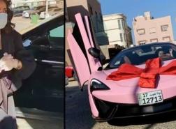 فرح الهادي تشتري سيارة أحلامها بسعر خيالي