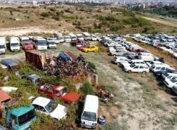 آلاف السيارات تبحث عن أصحابها في مرسين