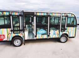 تحديد أجرة السيارات الكهربائية في جزر الأميرات