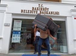 ضبط أثاث وممتلكات إحدى البلديات في إسطنبول لهذا السبب