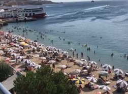 المصطافون يغمرون جزر مرمرة: ازداد عدد السكان 10 مرات