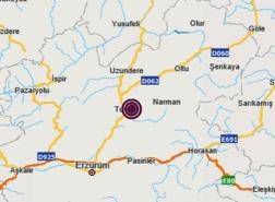 زلزال يضرب مدينة أرضروم شرق تركيا