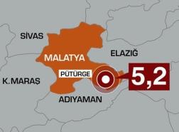 زلزال مخيف في ملاطية شرق تركيا