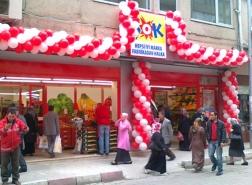 كم عدد فروع متجر شوك في تركيا ؟