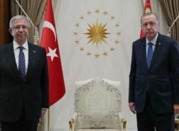 رئيس بلدية أنقرة يناقش مع أردوغان دعم مشاريع البنية التحتية في العاصمة