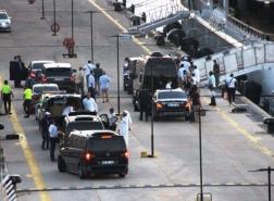 بالصور.. شقيق أمير دولة خليجية يصل تركيا مع 180 شخصًا وشاحنتي أمتعة