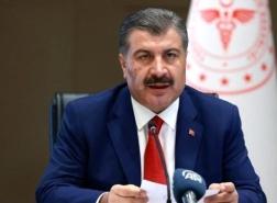 وزير الصحة التركي : وباء كورونا أخذ بالإزدياد