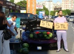 صاحب لامبرغيني يروي تفاصيل بيع البطيخ في إسطنبول