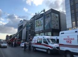 حريق في مصنع أدوية باسطنبول وإنقاذ 3 موظفين