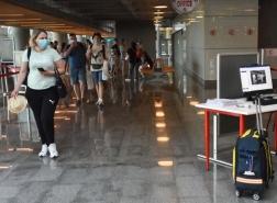61.8 مليون مسافر عبر المطارات التركية