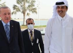 أردوغان وأمير قطر يناقشان قضايا اقليمية هامة جداً