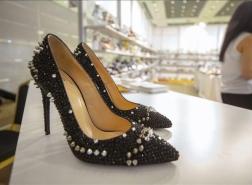 انطلاق معرض الأحذية الدولي في إنطاليا