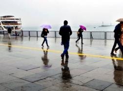 توقعات الطقس : أسبوع ممطر وبارد في اسطنبول