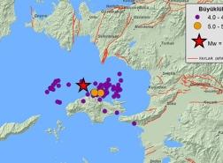 تركيا: تسجيل 3 آلاف و457 هزة ارتدادية في بحر إيجة