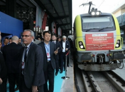 متوجها إلى الصين.. قطار التصدير التركي يصل جورجيا