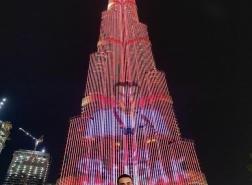 الشيف التركي بوراك في دبي وصورته تزين برج خليفة.. ما التفاصيل؟
