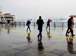 تحذير من الأرصاد الجوية : أمطار قوية في اسطنبول السبت