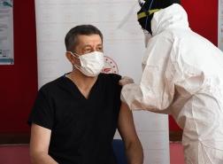 تركيا تبدأ في تطعيم المعلمين قبل استئناف التعليم وجهًا لوجه