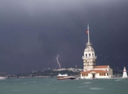 طقس بارد وأمطار غزيرة قادمة لاسطنبول
