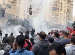 اندلاع حريق هائل قرب محطة قطارات شرقي القاهرة