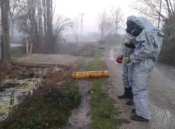نقل 12 شخصا لمستشفى تركي بسبب تسرب غاز كيميائي