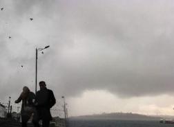 تحذير من مخاطر الطقس في إسطنبول غدا
