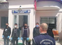 ضبط 5 أشخاص من جنسية عربية دخلوا تركيا بصورة غير نظامية