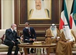 رسالة خطية من أمير الكويت إلى الرئيس أردوغان