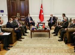 وزير الداخلية الليبي يبحث مع نظيره التركي رفع تأشيرة السفر