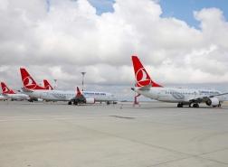 الخطوط التركية تستأنف رحلاتها من دولتين جديدتين
