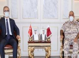قطر وتركيا تبحثان تطوير الصناعات الدفاعية المشتركة