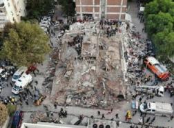 مذكرات اعتقال بحق 22 شخصًا على خلفية زلزال إزمير القاتل