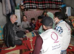 قطر الخيرية تبدأ توزيع زكاة الفطر على اللاجئين السوريين في تركيا