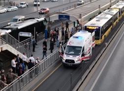 لحظات عصيبة داخل حافلة متروبوس بإسطنبول