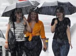 الأرصاد التركية تحذر : أمطار غزيرة متوقعة في هذه المدن
