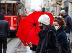 تحذير باللون الأصفر من الأرصاد التركية لسكان اسطنبول