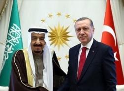 اتصال هاتفي جديد بين الرئيس أردوغان والملك سلمان