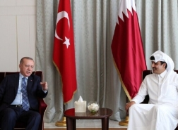 الرئيس التركي يهاتف أمير قطر