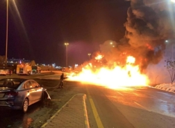 فيديو.. مأساة كبرى كادت تحصد عشرات الأرواح في السعودية