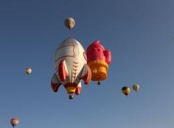صور.. انطلاق مهرجان المناطيد الدولي في كبادوكيا التركية